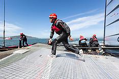 Artemis Racing's Red Boat onboard