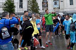 26-04-2015 NED: We Run 2 Change Diabetes NY 2015, Arnhem<br /> We run to change diabetes, training op de halve marathon van Madrid met de groep hardlopers van Novo Nordisk Spanje die op 1 november 2015 hun grenzen gaan verleggen in de marathon van New York / Petra, Antonio, Erik, Bas