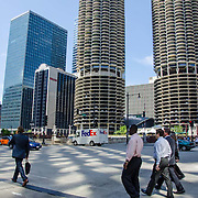 Street scene. Chicago, IL. United States.
