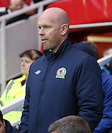 Picture by Paul Gaythorpe/Focus Images Ltd +447771 871632.26/12/2012.Blackburn Rovers manager Henning Berg before the npower Championship match at the Riverside Stadium, Middlesbrough.