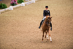 Van Baalen Marlies (NED) - BMC Miciano<br /> Grand Prix - Reem Acra FEI World Cup Dressage Qualifier - The London International Horse Show Olympia - London 2012<br /> © Hippo Foto - Jon Stroud
