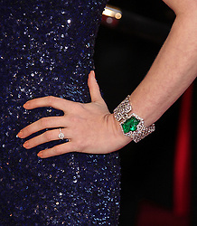Feb. 27, 2011 - Hollywood, California, U.S. - Actress AMY ADAMS wearing L'Wren Scott cap sleeved gown and a Cartier platinum and diamond Haute Joaillerie secret watch bracelet worth .025 million on the Oscar red carpet at the 83rd Academy Awards, The Oscars, in front of Kodak Theatre. (Credit Image: © Lisa O'Connor/ZUMAPRESS.com)