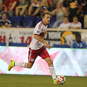 Eric Alexander, New York Red Bulls, scores his sides fourth goal during the New York Red Bulls Vs Columbus Crew, Major League Soccer regular season match at Red Bull Arena, Harrison, New Jersey. USA. 12th July 2014. Photo Tim Clayton