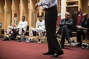 Houston, Texas - March 10, 2017: The Texas Southern Tigers play in the semifnals of the SWAC Conference Tournament against the Grambling State Tigers. (Michael Starghill, Jr. for The Undefeated)