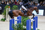 Penelope Leprevost on Vagabond de la Pomme during the Equestrian FEI World Cup Jumping Lyon 2017, CSI5 Longines Grand Prix on November 4, 2017 at Eurexpo Lyon in Chassieu, near Lyon, France - Photo Romain Biard / Isports / ProSportsImages / DPPI