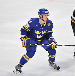 09.05.2012, Ericsson Globe, Stockholm, SWE, IIHF, Eishockey WM, Deuschland (GER) vs Schweden (SWE), im Bild 44 Niklas Hjalmarsson // during the IIHF Icehockey World Championship Game between Germany (GER) and Sweden (SWE)at the Ericsson Globe, Stockholm, Sweden on 2012/05/09. EXPA Pictures © 2012, PhotoCredit: EXPA/ PicAgency Skycam/ Simone Syversson..***** ATTENTION - OUT OF SWE *****