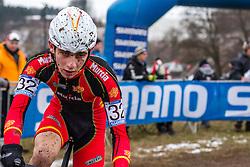 Jokin Alberdi (ESP), Men Juniors, Cyclo-cross World Championship Tabor, Czech Republic, 31 January 2015, Photo by Pim Nijland / PelotonPhotos.com