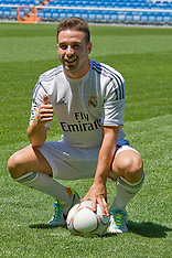 JULY 05 2013 Real Madrid's new player David Carvajal