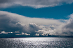 California, Lake Tahoe: Scenic view of lake from Tahoe Vista.  Photo copyright Lee Foster.  Photo # cataho107488