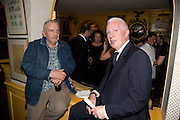 DAVID BAILEY: BARRY TOWNSLEY, Richard Prince opening at the Serpentine gallery and afterwards at Annabels. London. 25 June 2008 *** Local Caption *** -DO NOT ARCHIVE-© Copyright Photograph by Dafydd Jones. 248 Clapham Rd. London SW9 0PZ. Tel 0207 820 0771. www.dafjones.com.