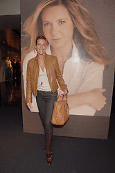 INDIA HICKS at a lunch to celebrate the launch of the Top Tips for Girls website (toptips.com) founded by Kate Reardon held at Armani, Brompton Road, London on 5th March 2007.<br />