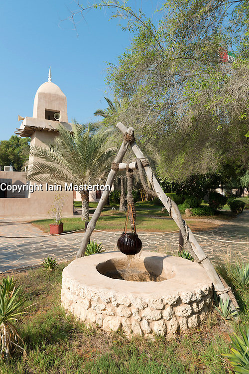 Heritage Village in Abu Dhabi in United Arab Emirates UAE