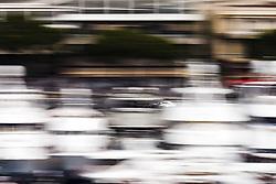 May 24, 2018 - Montecarlo, Monaco - 44 Lewis Hamilton from Great Britain Mercedes W09 Hybrid EQ Power+ team Mercedes GP  in the middle of the boats  during the Monaco Formula One Grand Prix  at Monaco on 24th of May, 2018 in Montecarlo, Monaco. (Credit Image: © Xavier Bonilla/NurPhoto via ZUMA Press)