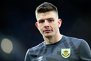 Burnley goalkeeper Nick Pope (1) during the Premier League match between Burnley and Bournemouth at Turf Moor, Burnley, England on 22 February 2020.