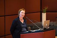 DEU, Deutschland, Germany, Berlin, 04.12.2017: Preisträgerin Ingrid Brekke bei der Willy-Brandt-Preisverleihung der Norwegisch-Deutschen Willy-Brandt-Stiftung.