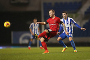 Leyton Orient midfielder Zan Benedicic (33) during the EFL Trophy Southern Group G match between U23 Brighton and Hove Albion and Leyton Orient at the American Express Community Stadium, Brighton and Hove, England on 8 November 2016.