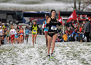 Nov 17, 2018; Madison, WI, USA; Dani Jones (55) of Colorado wins the women's race in 19:42.8 during the NCAA Cross Country Championships at the Thomas Zimmer Championship Course.