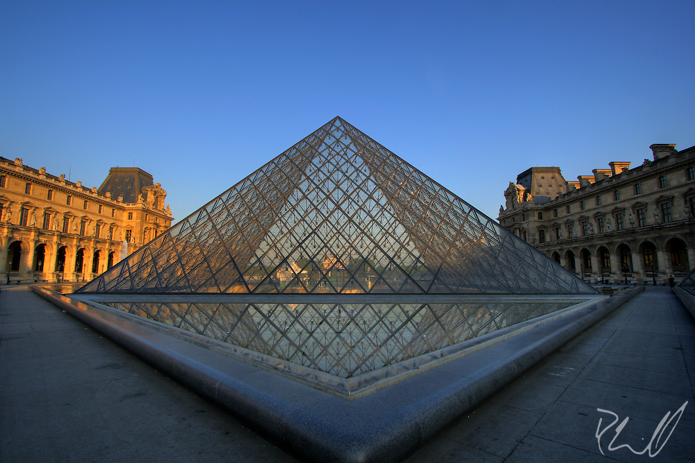 Louvre at Sunrise