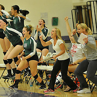8.28.2013 Elyria Catholic at Avon Varsity Volleyball