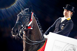 Werth Isabel, (GER), Weihegold <br /> Reem Acra FEI World Cup Dressage<br /> Jumping Amsterdam 2016<br /> © Hippo Foto - Dirk Caremans<br /> 30/01/16