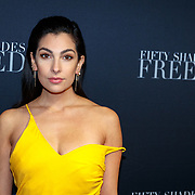 NLD/Amsterdam/20180206 - Fifty Shades Freed premiere, Anna Nooshin
