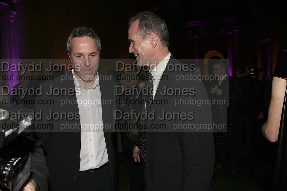 Andrew Nairne ( director Modern Oxford and and Sandy Nairne, ( director National Portrait  Gallery ) Turner Prize 2006. Tate Gallery. London. 4 December 2006. ONE TIME USE ONLY - DO NOT ARCHIVE  © Copyright Photograph by Dafydd Jones 248 CLAPHAM PARK RD. LONDON SW90PZ.  Tel 020 7733 0108 www.dafjones.com