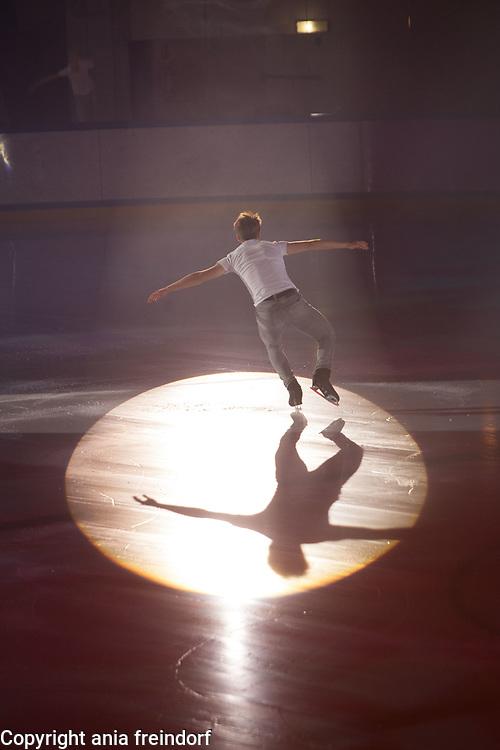 International Ice Skating Gala, Courchevel, France, 20 July 2017, Tim Huber, Member of National Team, Swiss,