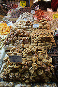 "Istanbul. At the Egyptian Bazar (""Spice Bazar""). Traditional sweets."