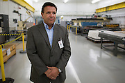 Michael Ognenovski, Vice President of Operations at Exelis Inc. in Rochester, New York on September 10, 2014. Ognenovski worked in Kodak's Remote Sensing Systems operation when it was sold to ITT Industries in 2004 and later spun off into Exelis.