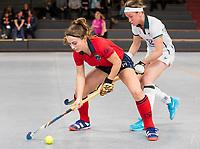 HAMBURG  (Ger) - Laren (Ned) v Waterloo Ducks (Bel) (8-2) foto:   . Eurohockey Indoor  Club Cup 2019 Women . WORLDSPORTPICS COPYRIGHT  KOEN SUYK
