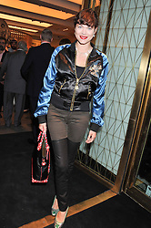 JASMINE GUINNESS at a party to celebrate the launch of the Vogue Fashion's Night Out held at Mulberry, Bond Street, London on 6th September 2012.