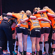 NLD/Den Bosch/20160604 - EK Kwalificatiewedstrijd handbal Nederland - Oostenrijk, team