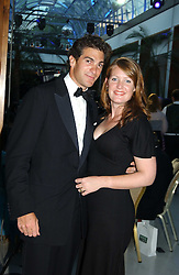 MR EDWARD & LADY TAMARA VAN CUTSEM at the Game Conservancy Jubilee Ball in aid of the Game Conservancy Trust held at The Hurlingham Club, London SW6 on 26th May 2005<br /><br />NON EXCLUSIVE - WORLD RIGHTS