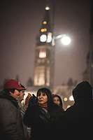 On November 21st, 2016, 350.org and the Council of Canadians organized a vigil here in Ottawa, against the Kinder Morgan pipeline proposal.<br /> <br /> First Nations representatives of the Algonquin people were present to signal their support with western First Nations, near Ottawa's Parliament.