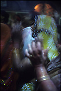 HOLI PUJA IN VRINDAVAN TEMPLE, INDIA