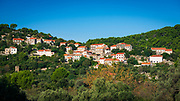 The village of Polace, Mljet Island National Park, Dalmatia, Croatia
