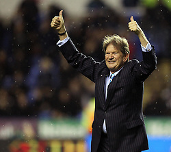 Sir John Madejski celebrates his 25 year association with Reading FC - Mandatory byline: Robbie Stephenson/JMP - 03/12/2015 - Football - Madejski Stadium - Reading, England - Reading v Queens Park Rangers - Sky Bet Championship