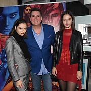 Tony Hadley, Bloom Twins arrives at Tresor Paris In2ruders - launch at Tresor Paris, 7 Greville Street, Hatton Garden, London, UK 13th September 2018.
