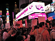 Gays Against Guns organized a solidarity with Las Vegas rally and march today in New York City.  <br />