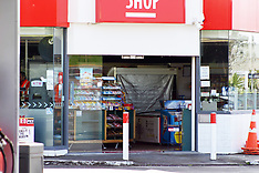 Auckland-Double ram raid on Papatoetoe service stations