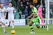 Forest Green Rovers Reuben Reid(26) on the ball during the EFL Sky Bet League 2 match between Forest Green Rovers and Port Vale at the New Lawn, Forest Green, United Kingdom on 6 January 2018. Photo by Shane Healey.
