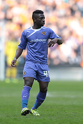 Wolverhampton Wanderers forward Nouha Dicko (40)  - Photo mandatory by-line: Nigel Pitts-Drake/JMP - Tel: Mobile: 07966 386802 29/03/2014 - SPORT - FOOTBALL -  Stadium MK - Milton Keynes - Milton Keynes Dons v Wolverhampton Wanderers - Sky Bet League One