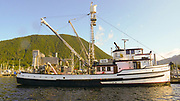 Fishing Boat, Harbor, Sitka, Alaska, USA