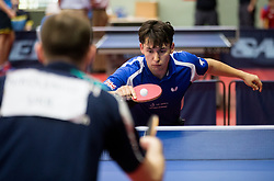 Ross William WILSON of Great Britain in action during Team events at Day 4 of 15th Slovenia Open - Thermana Lasko 2018 Table Tennis for the Disabled, on May 12, 2018, in Dvorana Tri Lilije, Lasko, Slovenia. Photo by Vid Ponikvar / Sportida