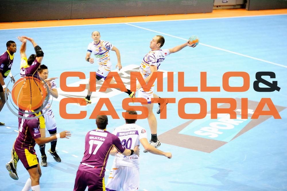 DESCRIZIONE : France Hand D1 Coupe de la Ligue Demi Finale a Nantes<br /> GIOCATORE : PODSIADLO Pawel<br /> SQUADRA : Selestat<br /> EVENTO : FRANCE Hand D1 Coupe de la Ligue <br /> GARA : Nantes Selestat<br /> DATA : 08/12/2012<br /> CATEGORIA : Hand D1 <br /> SPORT : Handball<br /> AUTORE : JF Molliere <br /> Galleria : France Hand 2012-2013 Action<br /> Fotonotizia : France Hand D1 Coupe de la Ligue Demi Finale a Toulouse<br /> Predefinita :