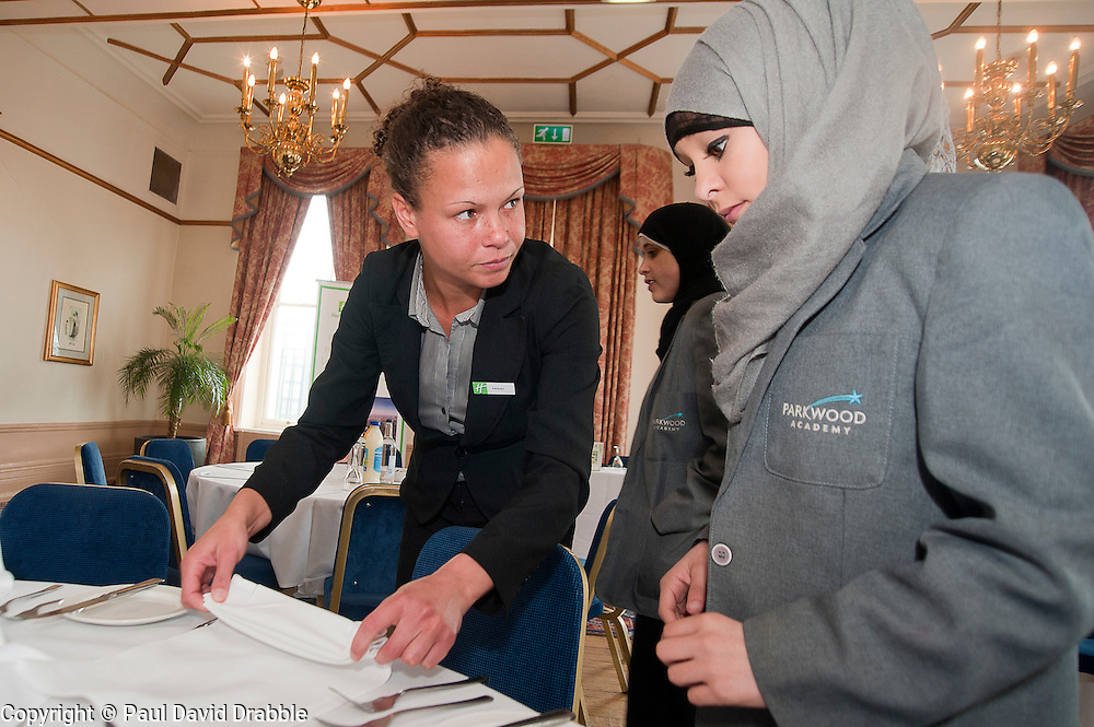 "Hospitality Sheffield's ""Spring Forward"" initiative aimed at attracting the next generation of hospitality professionals took place in Sheffield on Thursday 8th March....http://www.pauldaviddrabble.co.uk..3  March 2012 -  Image © Paul David Drabble"