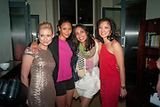 MYANNA BURLING; THANDIE NEWTON; ROSARIO DAWSON; MICHELLE YUE, Party after the opening of  A Memory, A Monologue, A Rant, and A Prayer  at Century Club.  Restless Buddha's fundraising event helping women around the world. All proceeds raised from the sale of tickets go to Women for Women International, V-Day and Domestic Violence Intervention Project. 26 March 2012