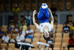 Andraz Lamut of Slovenia at Parallel Bars during Qualifications of Artistic Gymnastics FIG World Challenge Koper 2018, on June 1, 2017 in Arena Bonifika, Koper, Slovenia. Photo by Matic Klansek Velej/ Sportida