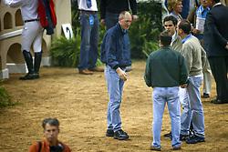 Pessoa Rodrigo en Kumps Jos<br /> World Cup Final Jumping Las Vegas 2003<br /> Photo © Dirk Caremans