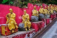China, Hong Kong, Kowloon, monastère des dix mille Bouddhas, // China, Hong Kong, Kowloon, Ten Thousand Buddhas Monastery
